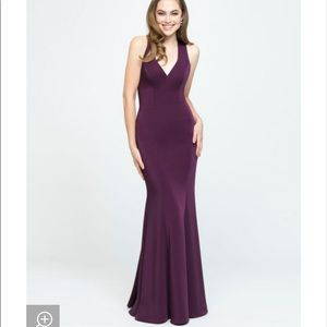 Allure burgundy bridesmaid dress BRAND NEW